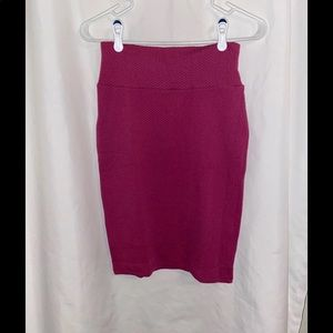 LuLaRoe Magenta Cassie Skirt XS